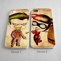 Joker and Harley Quenn Couples Phone Cases for iPhone Case