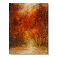 Caroline Ashton Sunny Autumn Canvas Wall Art