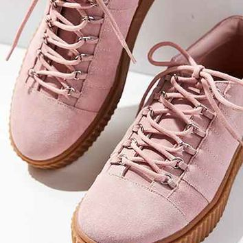 Hollie Suede Creeper Sneaker - Urban Outfitters