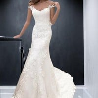 Aurelia Lace Wedding Dress