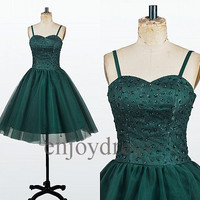 Custom Beaded New Short Bridesmaid Dresses 2014 Lovely Ball Gowns Party Dress Fashion Wedding Party Dress Evening Dresses Homecoming Dress