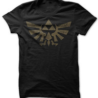 Zelda Tri Force Logo T Shirt