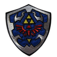 Zelda Iron On Patch