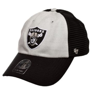 47 Brand Oakland Raiders Belmont Cleanup Adjustable Hat