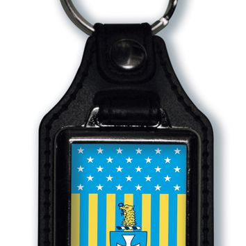 Sigma Chi US Flag Style Licensed Greek Life Keychain