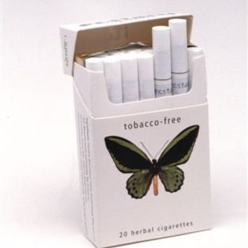 Ecstacy Herbal Cigarettes White Lightsmovie Industry 10 Pack Carton 20