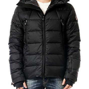 Wiberlux Moncler Camurac Men's Hooded Zip Front Goose Down Jacket