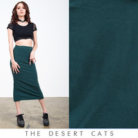 vintage 90s skirt vintage 1990s green bodycon skirt vintage 90s grunge bandage skirt with slit at back