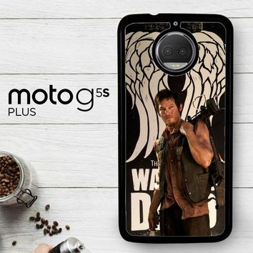 The Walking Dead Daryl Dixon Wings Z2791  Motorola Moto G5S Plus Case