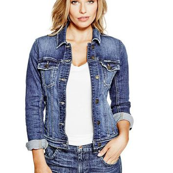 Classic Denim Jacket at Guess