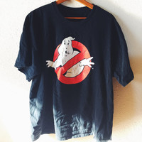 Vintage, Retro, 1980s, Ghost Busters, Unisex, Hipster, Tshirt, Size Large