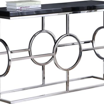 Brooke Chrome Console Table