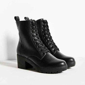 Lyle Heeled Lace-Up Boot