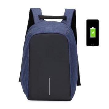 Smart Urban Anti Theft Backpack Best Anti-Theft Usb Charging Travel Backpack Hidden Zipper Waterproof Laptop Bag anti Thief E023