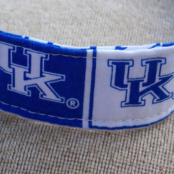 University of Kentucky Dog Collar by LucyLous22 on Etsy