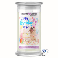 Happy Barkday To You | Jewelry Greeting Candles