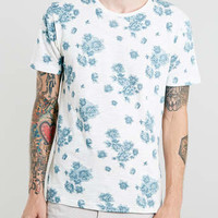Selected Homme Floral T-shirt - Selected Homme - Brands
