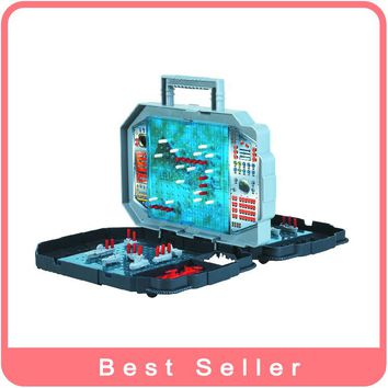 Fashion Toy Sea Battle Belt Folding Board Game Play Toy Chess Toy Free Shipping 3D Slide Puzzle Preschool Gift Toy