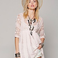 Free People Womens Call My Name Tunic
