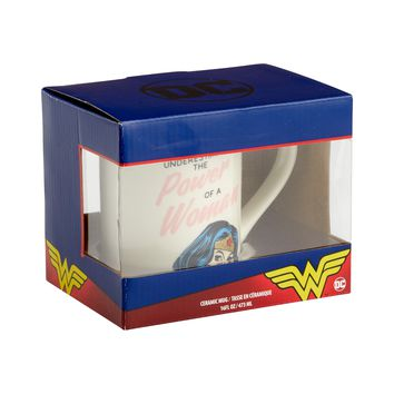 DC Comics by Our Name Is Mud Wonderwoman Girl Power Mug New with Box