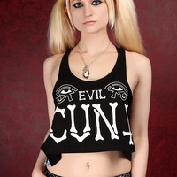 Victimized Tanktop - Evil Cunt :: VampireFreaks Store :: Gothic Clothing, Cyber-goth, punk, metal, alternative, rave, freak fashions