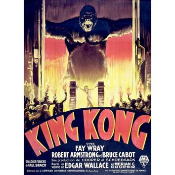King Kong French Movie Posters