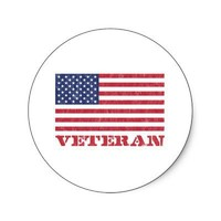 veteran sticker from Zazzle.com
