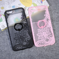 Fashion lace flower seriesï¼?style 7ï¼?mobile phone case for iphone 5 5s SE 6 6s 6Plus 6S Plus+ Nice gift box!