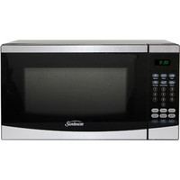Walmart: Sunbeam 0.7 cu ft Microwave, Stainless Steel