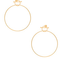 Maria Black 14 Karat Swing Earring in Gold | FWRD