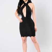 Just Me Dress - Black