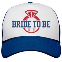 Baseball Bachelorette Bride Hats: This Mom Means Business!