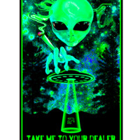 SVP1956 - Take Me To Your Dealer Blacklight Poster