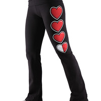 Health Bar Yoga Pants - Black,