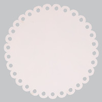Round Dot Magnet Board - White