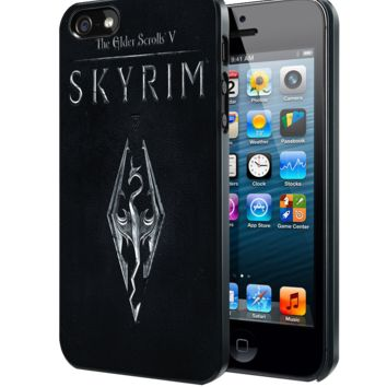 The Elder Scrolls V Skyrim Samsung Galaxy S3 S4 S5 S6 S6 Edge (Mini) Note 2 4 , LG G2 G3, HTC One X S M7 M8 M9 ,Sony Experia Z1 Z2 Case