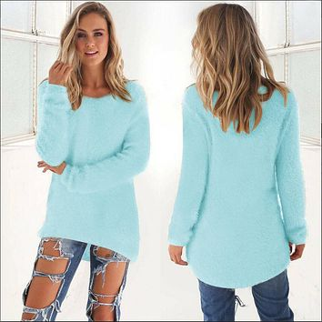 Women's O Neck Pullover Long Sleeve Slim knitted Sweater Shirt Knitwear maternity clothes winter pregnancy sweatshirt 388