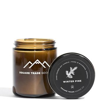 Winter Pine Candle