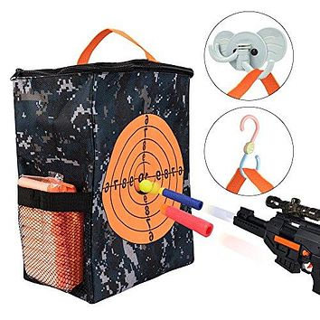 Target Pouch Storage Carry Equipment Bag for Nerf Guns Darts N strike