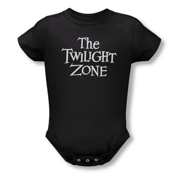 Twilight Zone Boys' Logo Bodysuit Black Rockabilia