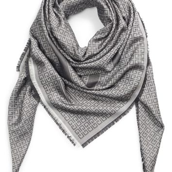 Givenchy Vintage 4G Jacquard Silk & Wool Scarf | Nordstrom