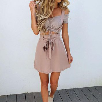 Keep Coming Back Dress: Dusty Mauve