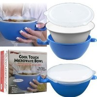 Chef Buddy Cool Touch Microwave Bowl