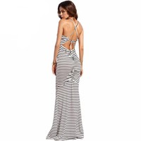 Sexy Long Summer Dresses For Women Casual Ladies Spaghetti Maxi Dress