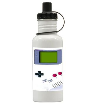 Gift Water Bottles | Funny Hipster Gameboy Aluminum Water Bottles