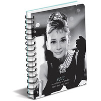 AUDREY HEPBURN TM 2016 Organizer and Planner-Great Holiday Gift Item!