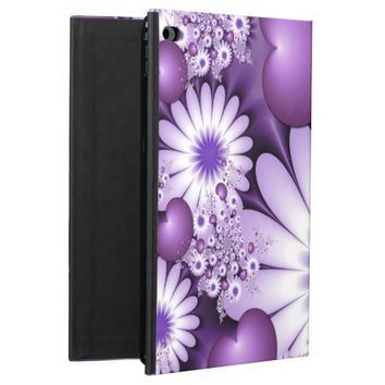 Falling in Love Abstract Flowers & Hearts Fractal Powis iPad Air 2 Case