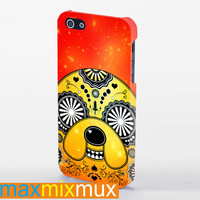 Adventure Time Sugar Skull On Galaxy iPhone 4/4S, 5/5S, 5C Series Full Wrap Case
