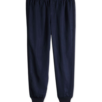 Tencel® Jog Pant, Navy, Sizes 4-6X,