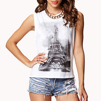Eiffel Tower Muscle Tee